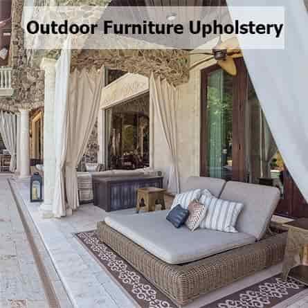 Outdoor Furniture Upholstery Dubai